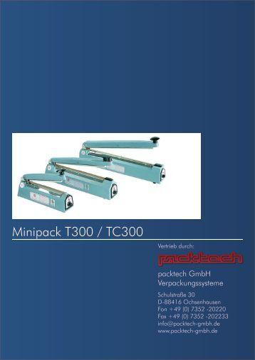Machines manuelles d'emballage Handgeräte - Packtech-GmbH