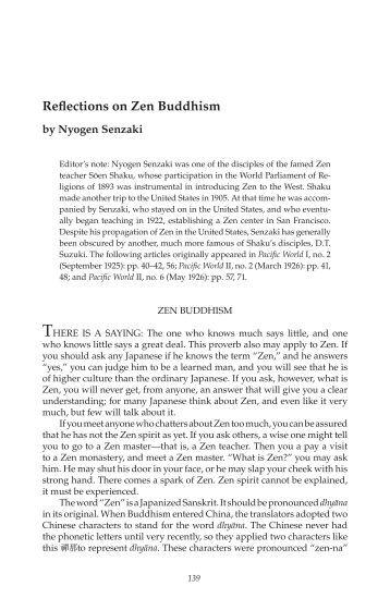 A study of Shin Buddhism.