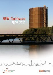 Nrw-Tarifbericht 2009-2010 - Busse & Bahnen NRW