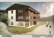 Ferienwohnungen, Amden - Fuchsbau Architekten AG