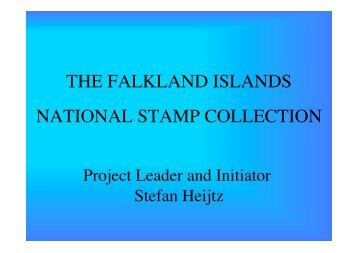 the falkland islands national stamp collection - Nova Stamps