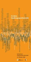 10 Jahre Studiengang Informatik - Fachhochschule Flensburg