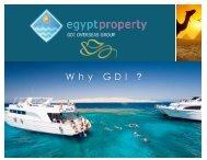 W h y G D I ? - Egypt Property