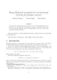 Brunn-Minkowski inequalities for two functionals ... - ResearchGate