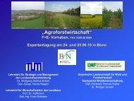 """""""Agroforstwirtschaft"""" - Strategie und Management der ..."""