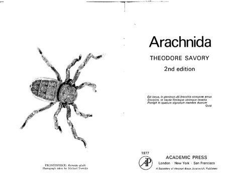 Savory - Arachnida 1977