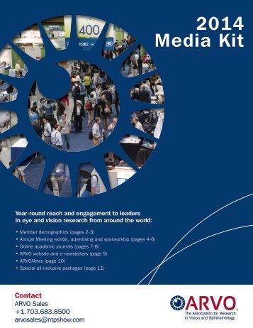 2014 Media Kit - ARVO