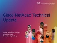 routing and switching - Cisco Networking Academy Events