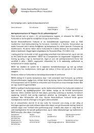 Høringsuttalelse i forbindelse med 22. juli-kommisjonens ... - NROF
