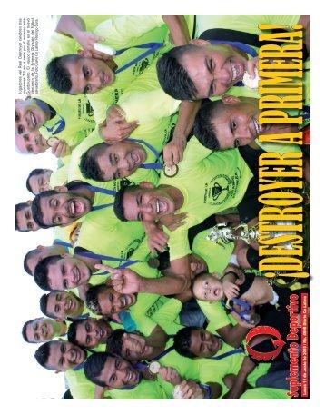 Suplemento Deportivo 15 de Junio de 2015