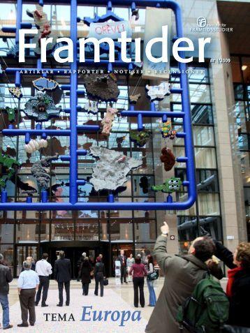 Ladda ner Framtider_nr1_2009 - Institutet för Framtidsstudier