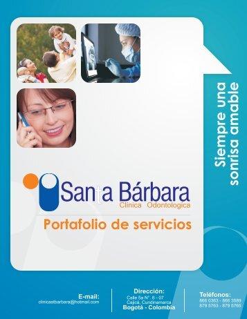 Clinica Odontologica Santa Bárbara