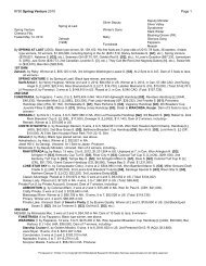 #750 Spring Venture 2010 Page 1 - Kentucky Derby