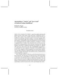 """and """"Pure Land"""" in Medieval Indian Buddhism? - The Institute of ..."""
