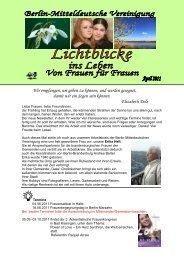 Lichtblicke 09 - Christlichefrauen.net