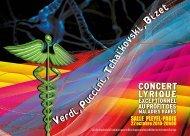 Verdi, uccini, chaïkovski, izet - Salle Pleyel