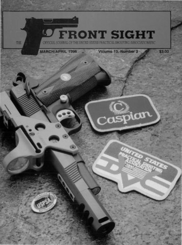 FRONT SIGHT - uspsa