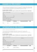 FORMULAIRES DE RÉSERVATION - Salle Pleyel - Page 4