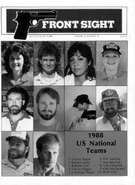 1988 US National Teams - uspsa