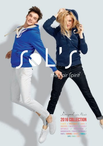 SOL'S 2016 COLLECTION