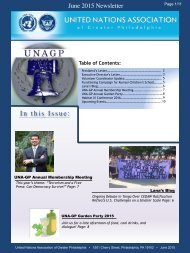 UNAGP_Newsletter_2015.06