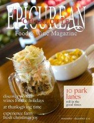 10 park lanes - Epicurean Charlotte Food & Wine Magazine