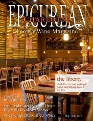 the liberty - Epicurean Charlotte Food & Wine Magazine