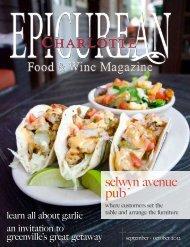 September/October 2012 - Epicurean Charlotte Food & Wine ...
