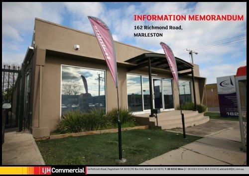 INFORMATION MEMORANDUM - Domain