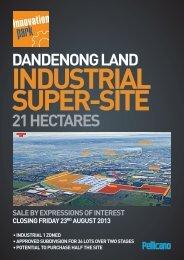 DANDENONG LAND 21 HECTARES