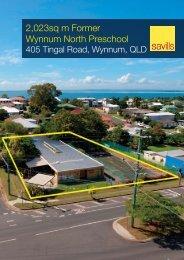 2,023sq m Former Wynnum North Preschool - Commercial Property ...