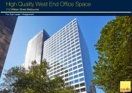 High Quality West End Office Space