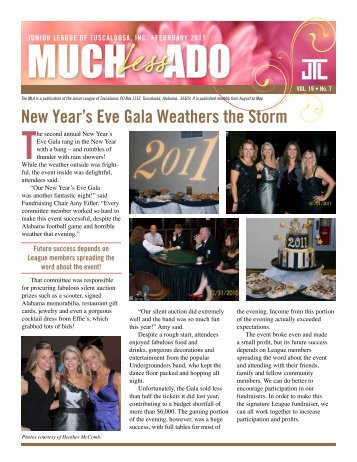 New year's Eve Gala Weathers the Storm - Junior League of ...