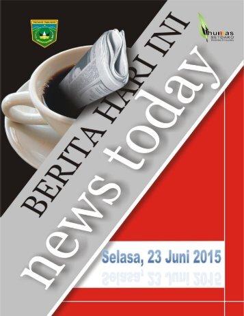 Kliping Berita Hari Ini Tanggal 23 Juni 2015.pdf