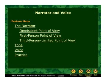 Narrator and Voice - EZWebSite
