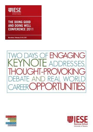Panel Speakers - IESE Blog Community - IESE Business School