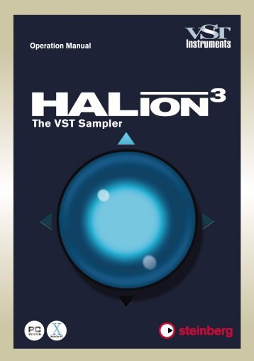 HALion – Operation Manual - zZounds.com