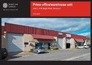 Prime office/warehouse unit