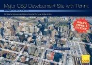 Major CBD Development Site with Permit - Domain