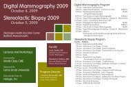 Digital Mammography 2009 Stereotactic Biopsy 2009 - Hologic