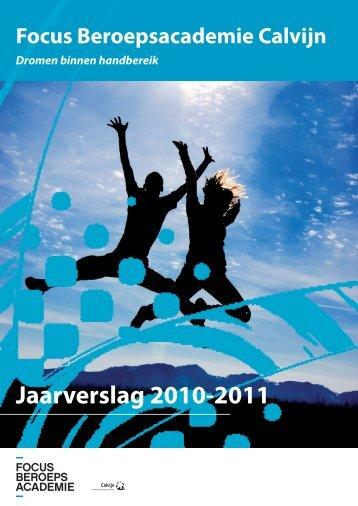 Jaarverslag Focus 2010-2011 - CSG Calvijn