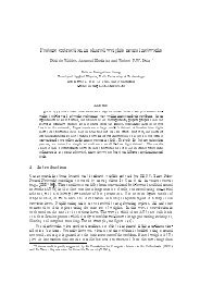 Feature extraction in shared weights neural networks