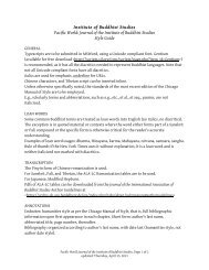 a style guide for submissions to Pacific World. - The Institute of ...