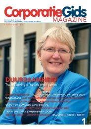 MAGAZINE DuurzaamheiD - Corporatiegids.nl