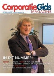 MAGAZINE IN DIT NUMMER: - Corporatiegids.nl