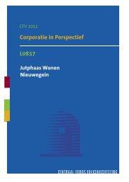 L0837 Corporatie In Perspectief Samenvatting 2012