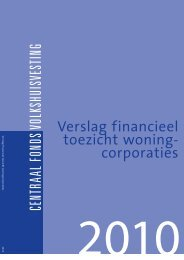 Verslag financieel toezicht woningcorporaties 2010