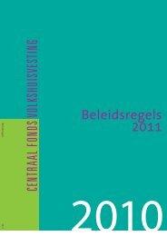 Beleidsregels 2011
