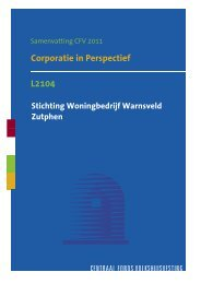 L2104 Corporatie In Perspectief Samenvatting 2011