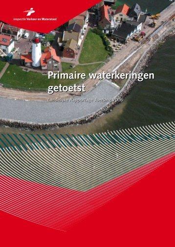 Primaire waterkeringen getoetst